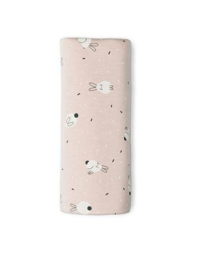 muselina bambu sonpetit rabbit rosa