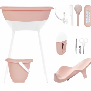 set baño luma cloud pink